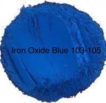 تصویر اکسید آهن آبی Iron Oxide Blue 103-105
